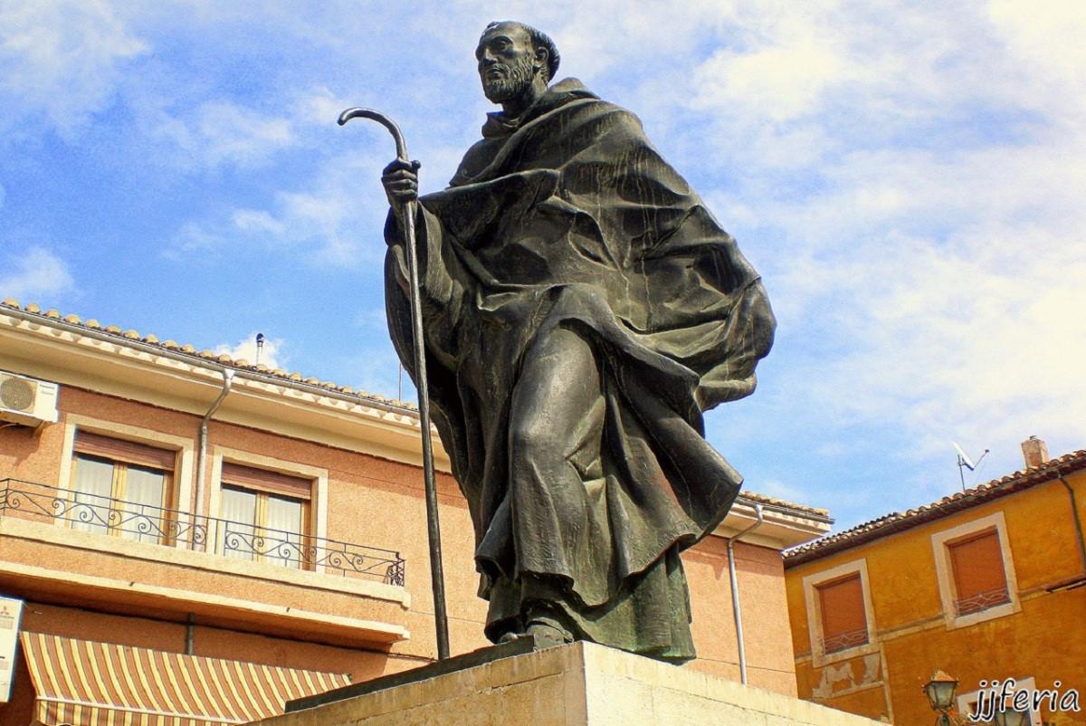S. Juan de la Cruz, obra de Rafael Pí Belda en Caravaca
