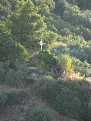Cruz de los caminos. Entre Beas de Segura y El Calvario